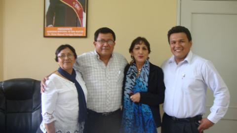 Gobernador de San Martín ratificará el Acuerdo de Gobernabilidad