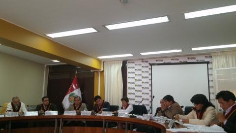 Aprobación de Acuerdo de Gobernabilidad de Junin