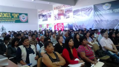 """II Encuentro Regional de Mesas de Concertacion """"Impacto del Fenómeno El Niño en el desarrollo social, económico y ambiental en la región Ica"""""""