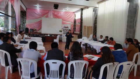 """MCLCP co-organiza el curso: """"POLÍTICAS PÚBLICAS PARA EL DESARROLLO SOSTENIBLE de la  región APURÍMAC"""", orientados a consejeros y regidores, 1er módulo."""