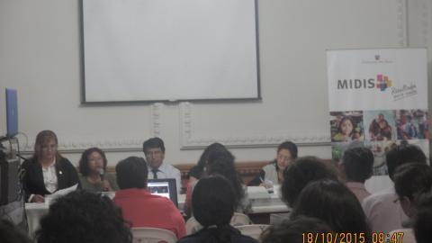 La Mesa de Concertación Para la Lucha Contra la Pobreza de Ica, participó en la IV Semana de la Inclusión Social 2015