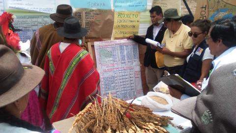 MCLCP participó como Jurado Calificador de Proyectos en el Concurso de Ideas de Negocios Rurales del Programa ALIADOS de AgroRural