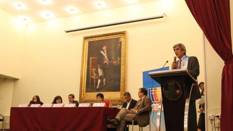 Inauguración del XV Encuentro Nacional de la MCLCP
