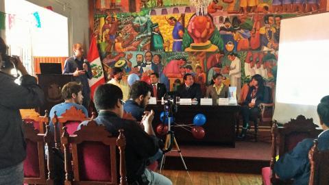 Conferencia de Prensa Buen trato para la Niñez