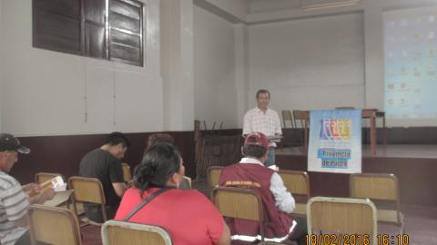 Mesa de Concertación de la Provincia de Palpa realiza Pre - Encuentros sobre el Derecho Humano al Agua en el distrito de Río Grande - Palpa