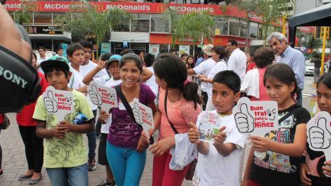 Niños y niñas demandan propuestas para proteger sus derechos