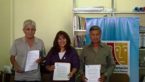 Suscripción del Acta de Compromiso Político por los Congresistas Electos por la Región Tacna.