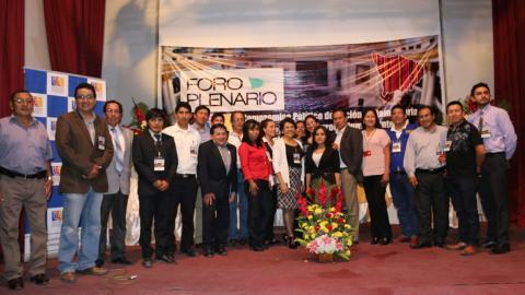 La MCLCP-Apurímac y su Grupo Impulsor para la Gobernabilidad de Apurímac realizó el Foro con Candidatos/as