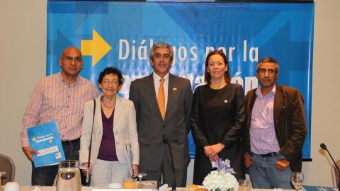 Acuerdo de Gobernabilidad articula políticas nacionales e internacionales para el desarrollo sostenible
