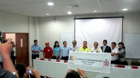 Oficializan el Acuerdo de Gobernabilidad Regional de Ucayali mediante Resolución Ejecutiva
