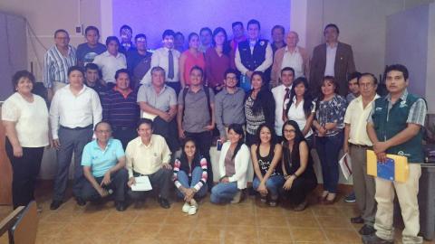 Reunión de Trabajo de Grupos Técnicos de la CAR - MINAM.