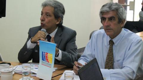 Ministro del Ambiente presentó balance del sector en sesión del Comité Ejecutivo Nacional de la Mesa