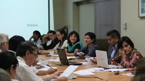 Grupos de seguimiento concertado a presupuesto en salud materno neonatal y nutrición evalúan avances en últimos 5 años