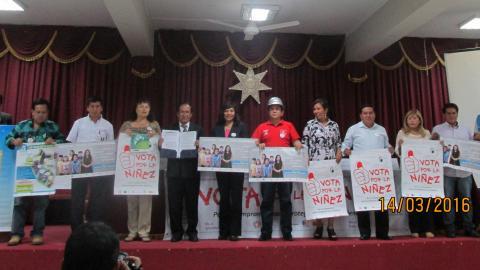 """""""Compromiso Político de Acción Parlamentaria Conjunta por el Desarrollo Humano Integral del Departamento de Huánuco 2016 – 2021"""""""