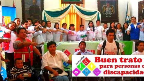 """Lanzamiento de la """"Campaña Buen Trato para Personas con Discapacidad""""."""