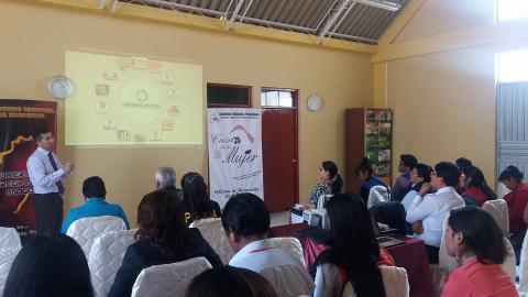 Asistencia técnica a los miembros de la Comisión Regional Contra la Trata de Personas y Tráfico Ilícito de Migrantes en la región Moquegua