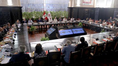 Acuerdo Nacional aprobó declaración sobre grave situación que vive el país