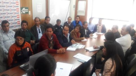 MCLCP-Apurímac apoya a Reunión de urgencia convocada por la Plataforma de Defensa Civil Regional