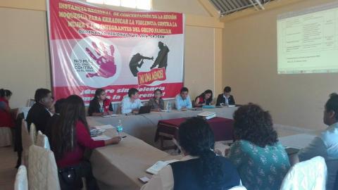 Reunión del Consejo Regional de Acción por la Infancia y Adolescencia
