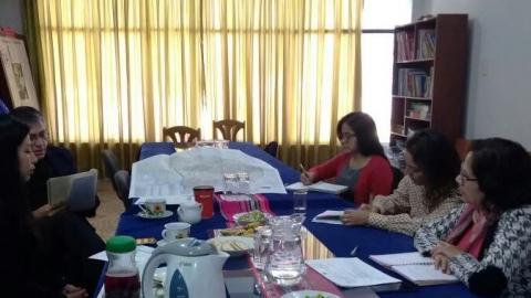 Reunión con director del programa Tambos en Apurímac