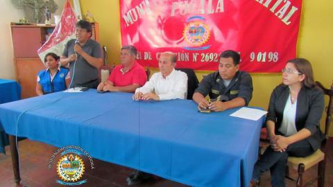 Se reinstaló Mesa de Concertación de Lucha Contra la Pobreza en distrito de Pucalá