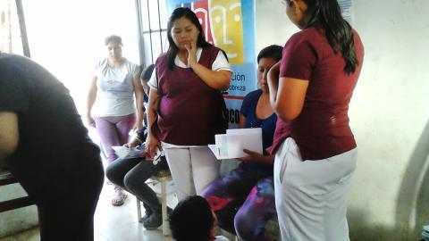 Charla Informativa sobre Nutrición y Alimentación Saludable en el distrito de Los Aquijes