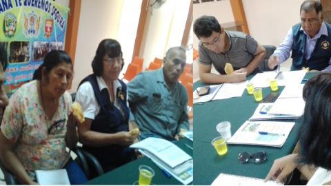 Sesión ordinaria de MCLCP de la provincia de Camaná