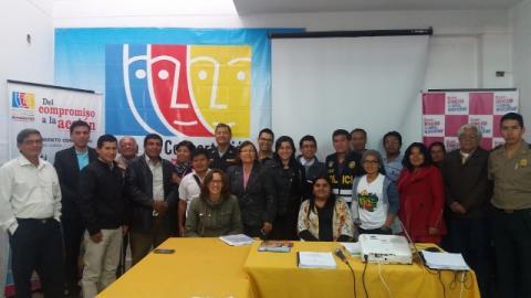 Reunión de coordinadores de las Mesas locales de Amazonas