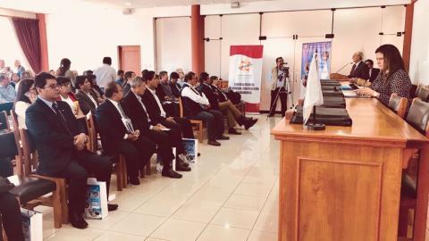 Instalan Comité para elaboración del Plan Regional de Saneamiento