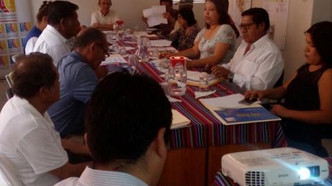 Comité Ejecutivo Regional de la MCLCP - Lambayeque realiza reunión en el marco del 17 Aniversario