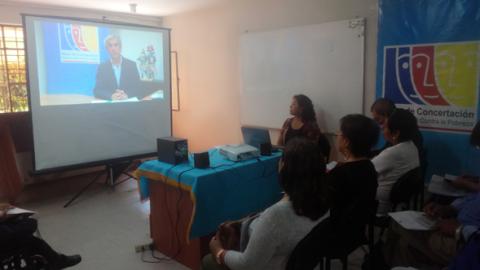 Reunión de instalación del CER-MCLCP-Ica 2018