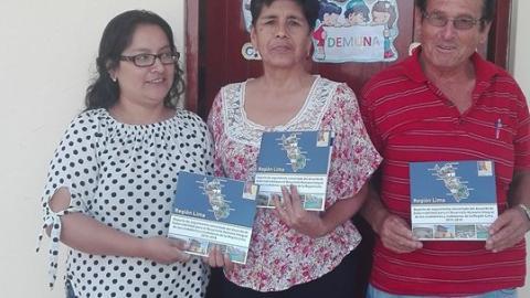 Coordinan acciones para promover la participación de los niños,niñas y adolescentes en el distrito de Santa Rosa de Quives