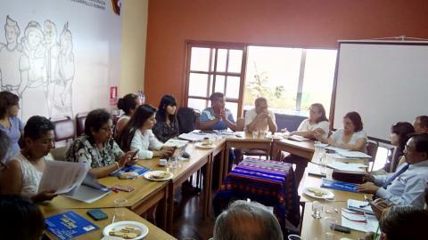 Comité Ejecutivo Regional de la MCLCP de Lima Metropolitana ratificó Coordinación Regional