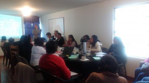 La Mesa de Concertación de Cusco se reúne para elaborar el  POA 2018