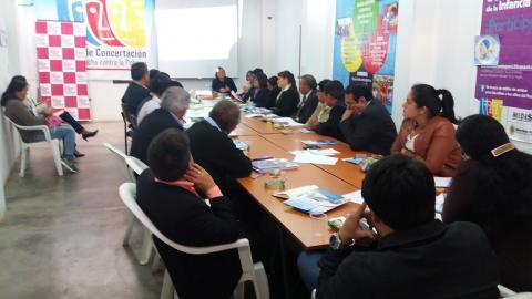 Primera reunión ordinaria del Comité Ejecutivo Regional de la Mclcp Amazonas