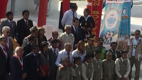 Ceremonia de apertura del año escolar 2018