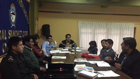 Asistencia Técnica a la MCLCP de la provincia General Sánchez Cerro.