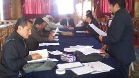 MCLCP de la provincia de Azangaro se prepara para elaborar los Acuerdos de Gobernabilidad.