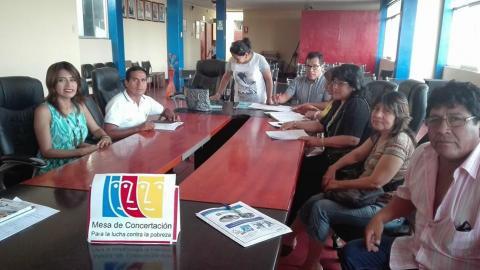 Capacitación de la Campaña del Buen Inicio del Año Escolar  en la Provincia de Barranca