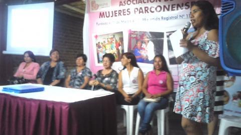 Conferencia pública: Las mujeres de Parcona a través de 19 años
