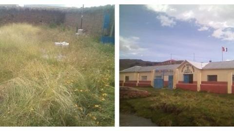 En veeduría del inicio del año escolar constatan ausencia de estudiantes por fuertes luvias en el distrito de Rosaspata -provincia de Huancané