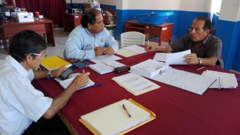 Coordinan acciones en el marco de la veeduría del inicio del año escolar  en provincias de Tumbes