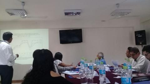 Sesión del Consejo Regional del Trabajo