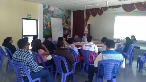 Mesa de Desarrollo e Inclusión Social de la Provincia de Aymaraes realizó su primera sesión