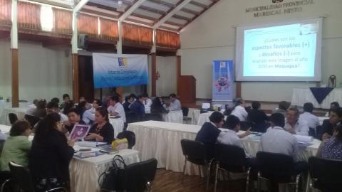 Organizaciones de Moquegua identifican prioridades que serán propuestas a  las próximas autoridades de la región