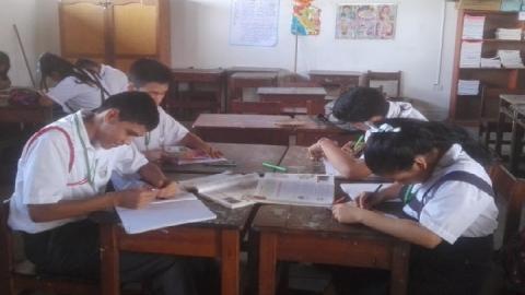 La Voz de Mi Comunidad en escuelas de Ucayali