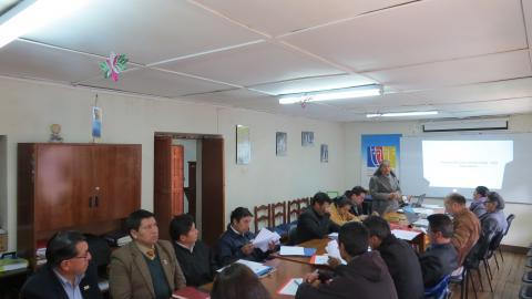 Mesa Regional de Huancavelica aprobó documento para el Acuerdo de Gobernabilidad 2019-2022