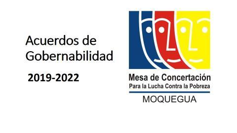 En conferencia de prensa se presentarán los Acuerdos de Gobernabilidad firmados por los candidatos al Gobierno Regional de Moquegua y la Municipalidad Provincial de Mariscal Nieto
