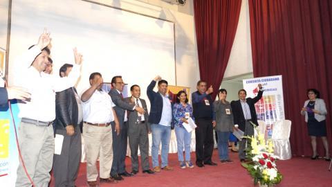 MESA DE APURÍMAC SUSCRIBIÓ ACUERDO DE GOBERNABILIDAD 2019 – 2022 CON CANDIDATOS AL GOBIERNO REGIONAL