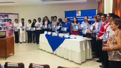 Acuerdo de Gobernabilidad Regional Concertado para el Desarrollo Integral de Huánuco 2019 - 2022